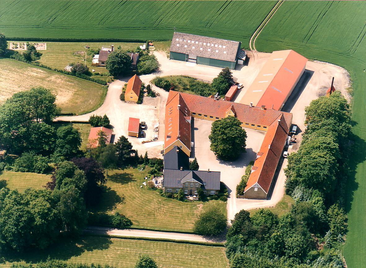 Loftfoto Kappelevgård